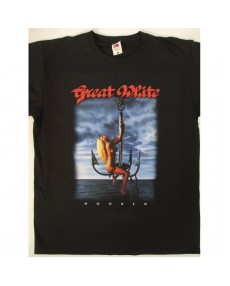 Great White - Hooked Tour '91 T-shirt